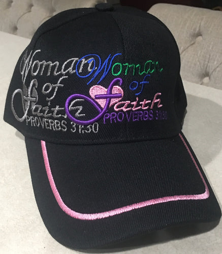 *Woman of Faith caps