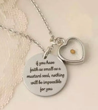 Inspirational Mustard Seed Necklace