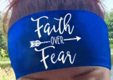 Faith Over Fear Active Wear Quick Dry-Wick T-Shirt