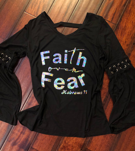 Hebrews 11 - Faith Over Fear Shirt