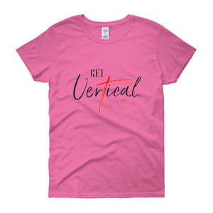 """Get Vertical"" Women's Short Sleeve Tee"