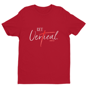 """Get Vertical"" Men's Short Sleeve T-shirt"