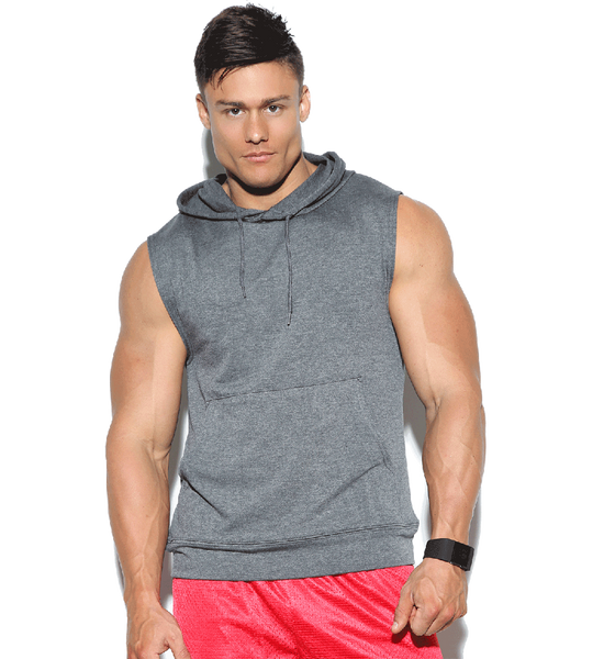 270f11bb956484 American Fitness Wear Sleeveless Pullover Hoodie