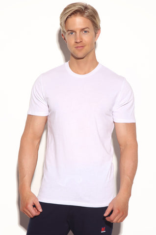 made in usa white t-shirt