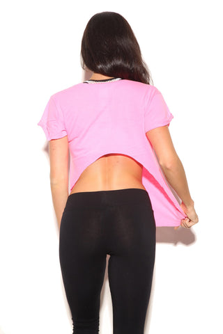 cutoff gym top