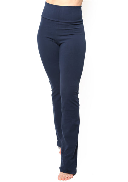 Made In USA Cotton Spandex Yoga Pants