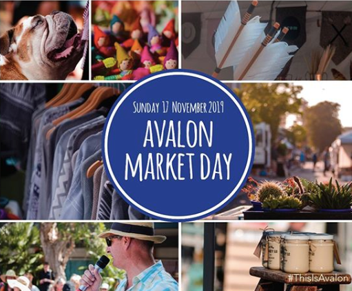 This Sunday // Avalon Beach Market Day