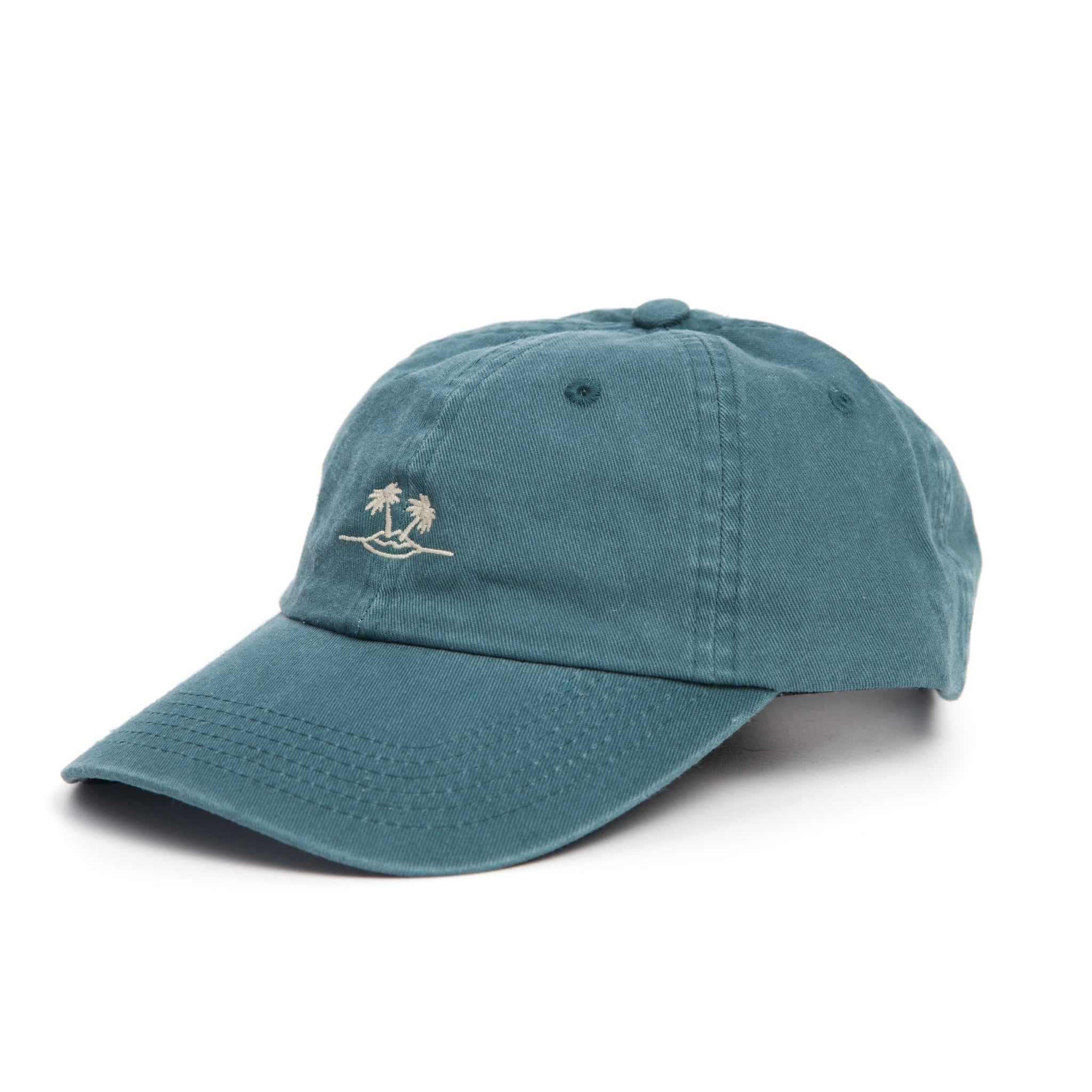 Teal Dad Cap // Palm
