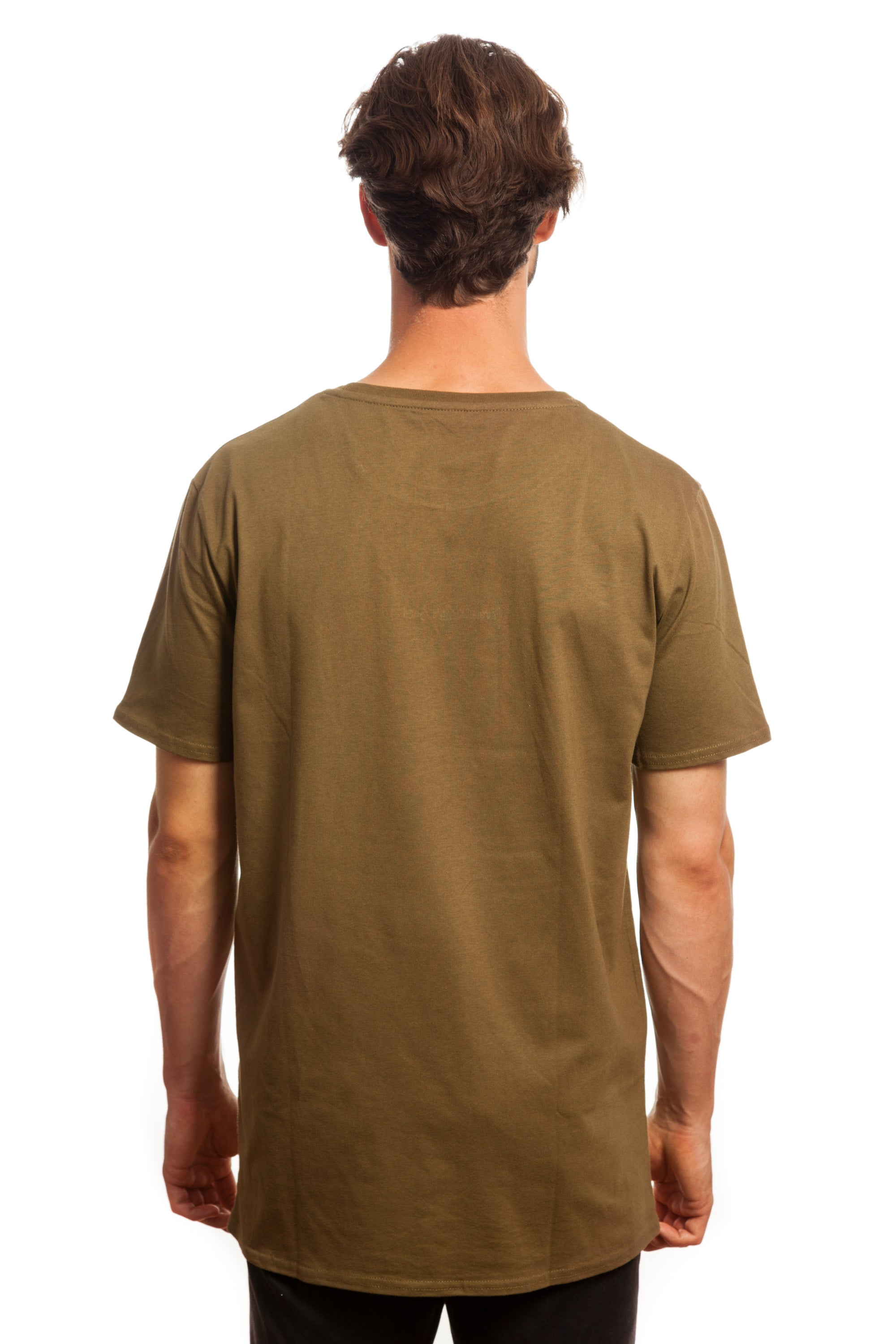 Khaki Embroidered Basic // Everything's Good
