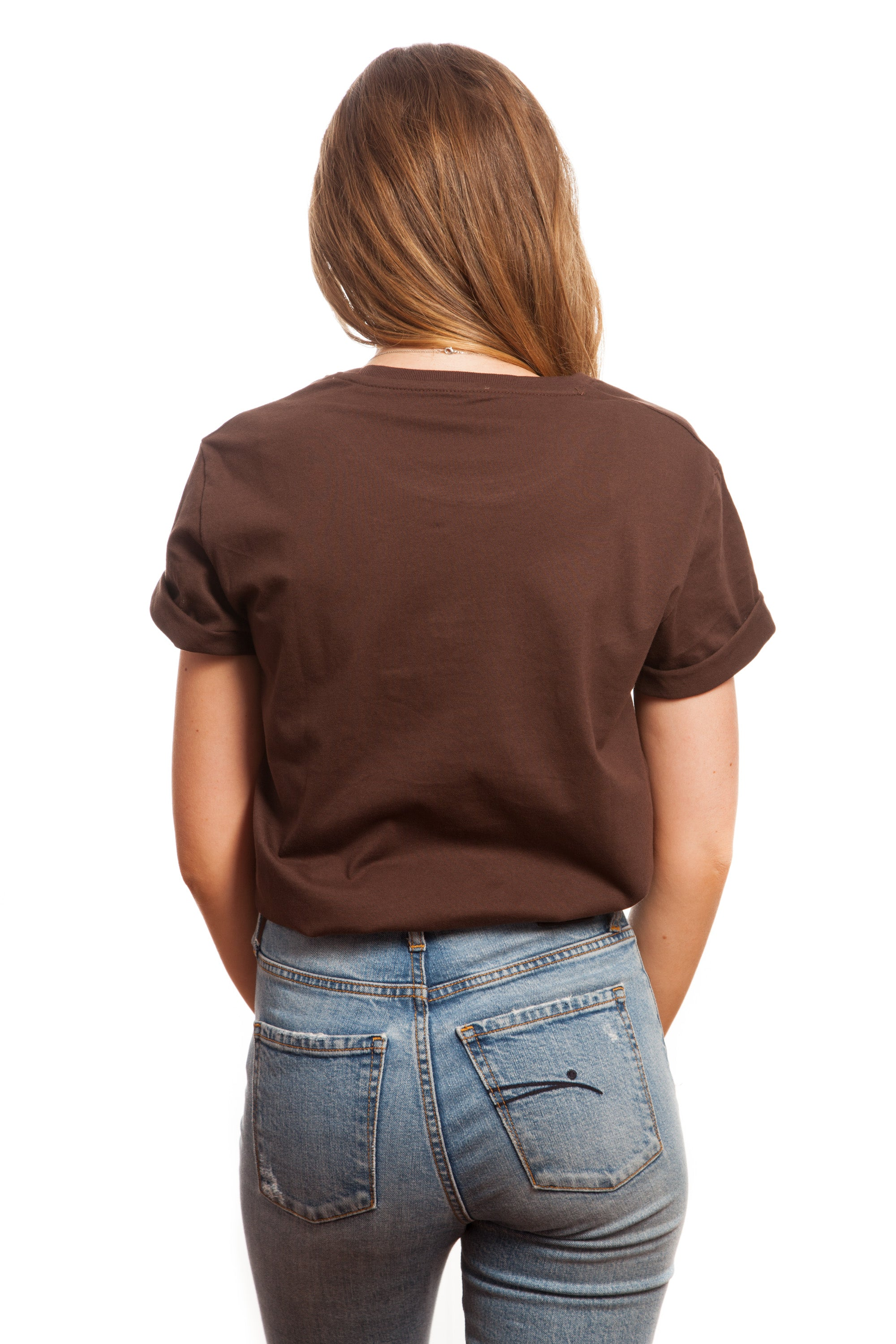 Chocolate Embroidered Basic // Everything's Good