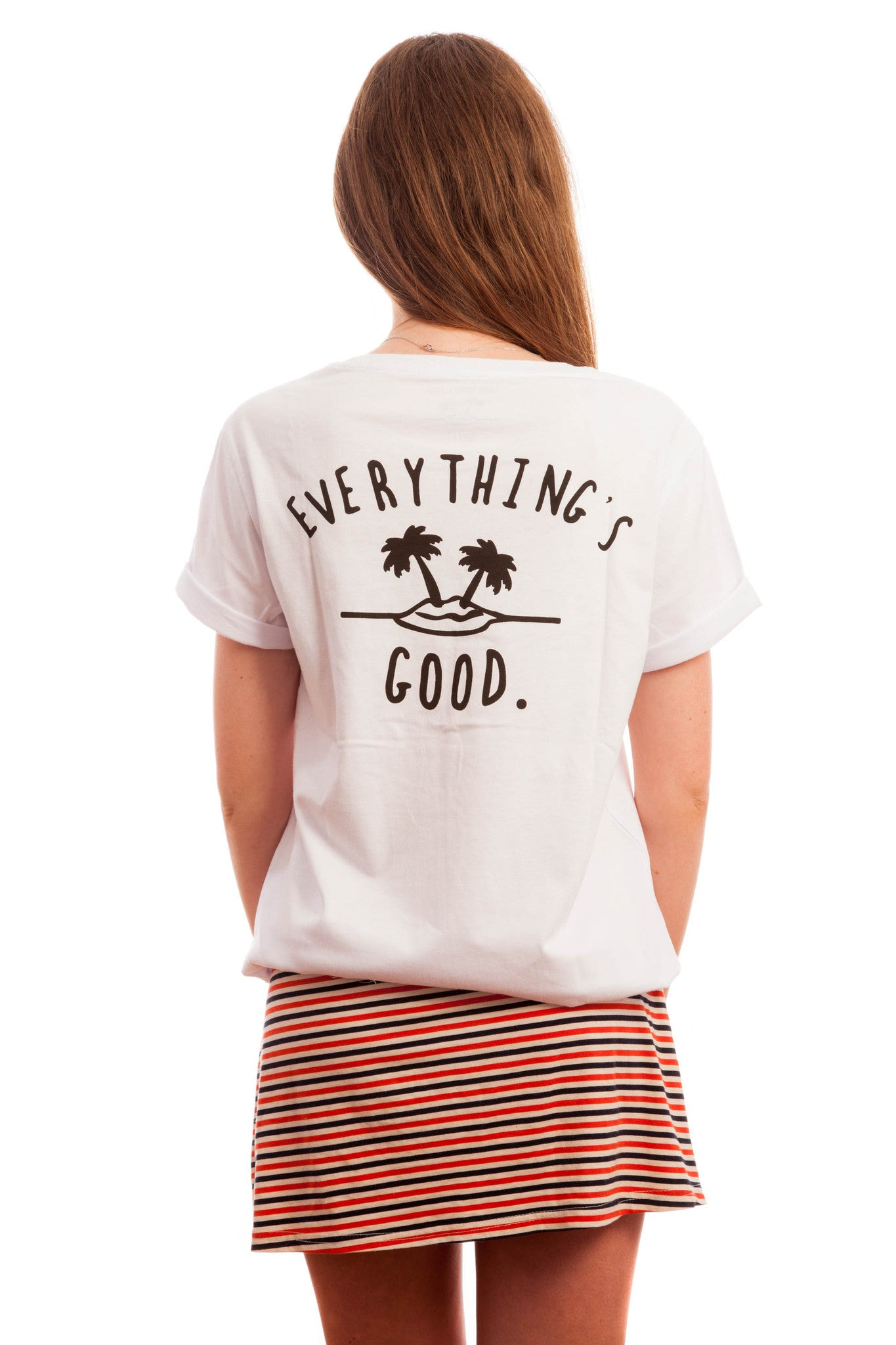 Everything's Good Tee // White