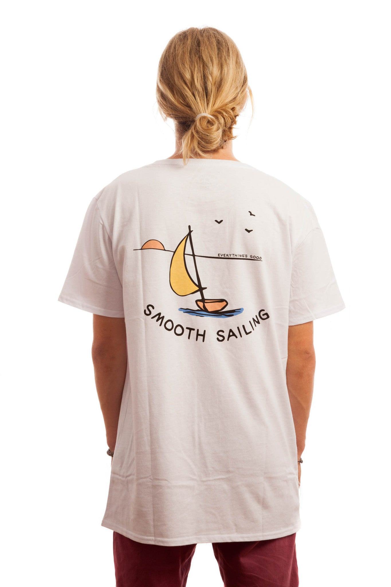 Smooth Sailing Tee // White