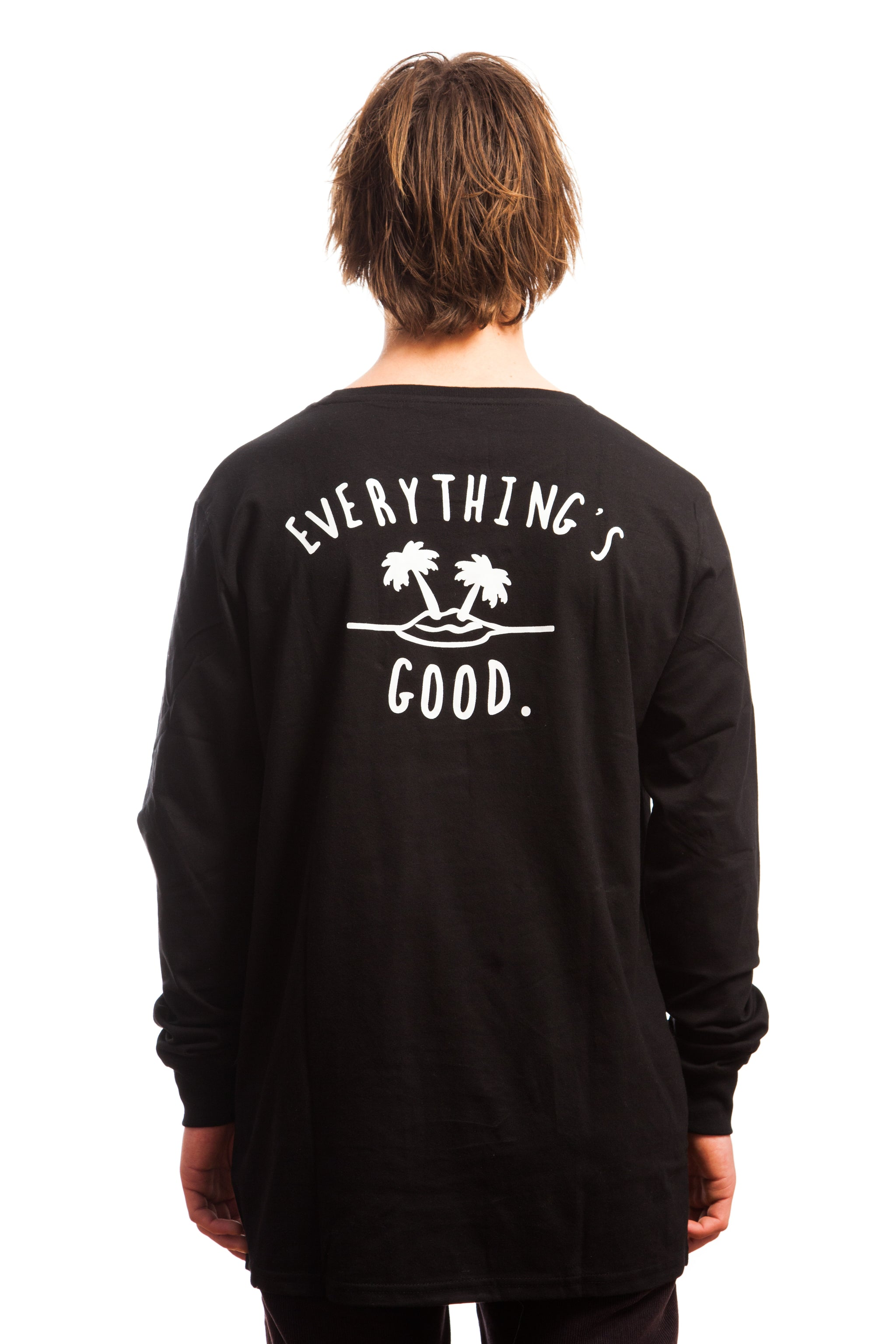 Everything's Good Longsleeve // Black