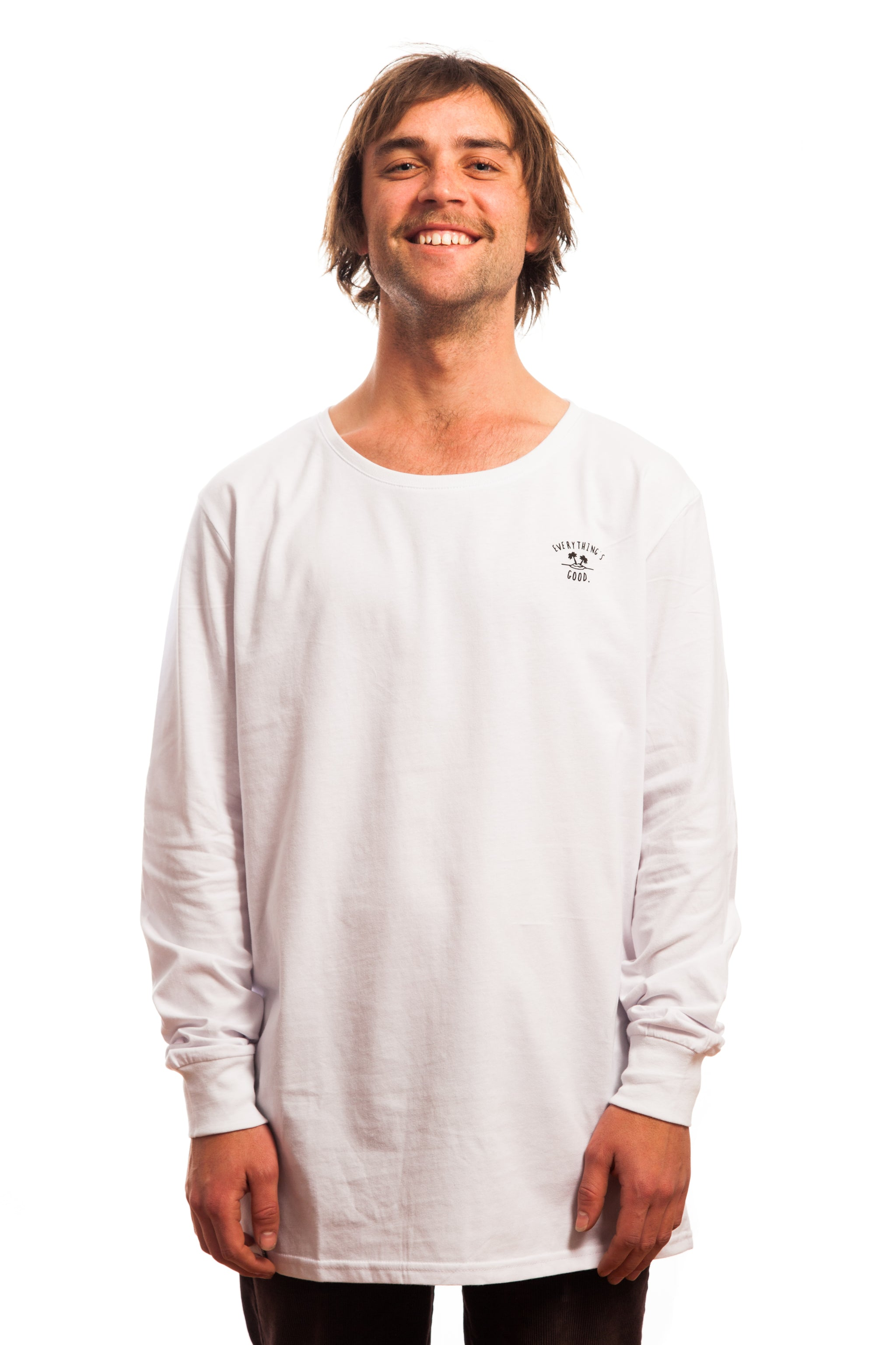 Vitamin Sea Longsleeve // White