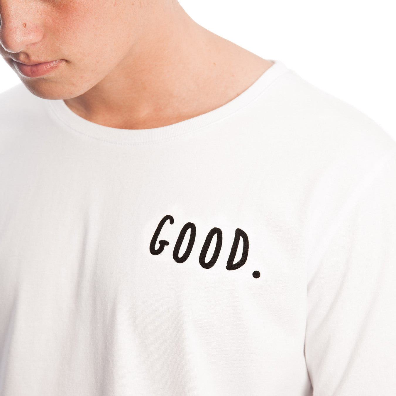 everythings good clothing co everythings good tee white