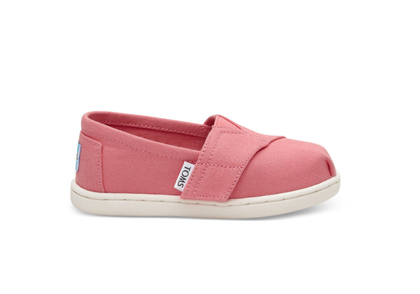 TOMS Bubblegum Pink Canvas Tiny Classic