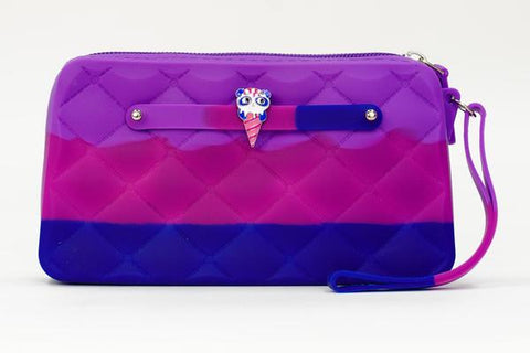 Blueberry Ice Cream Yummy Gummy Wristlet