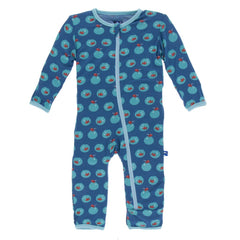 Twilight Fishbowl Coverall with Snaps