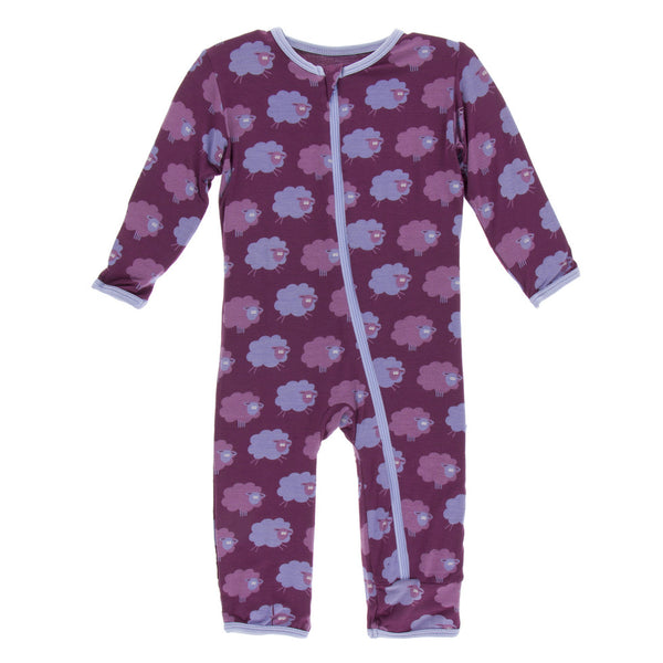 Grapevine Sheep Coverall with Zipper