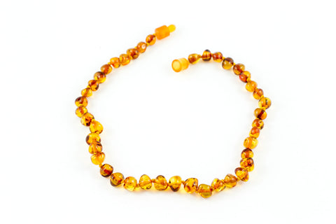 Baltic Amber Polished Baby Necklace