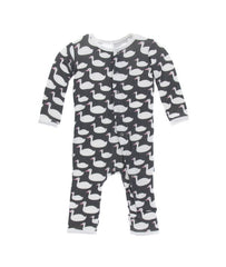 Stone Geese Coverall with Snaps