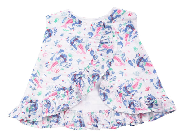 Mermaid Ruffle Top and Bloomer