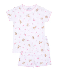 Beach Baby Short PJs Pink