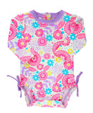 Blooming Buttercups One Piece Rashguard
