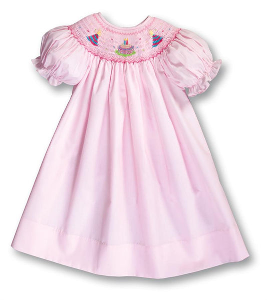 Party Cake Smocked Bishop