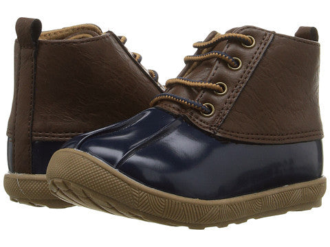 Navy/Brown Duck Boot