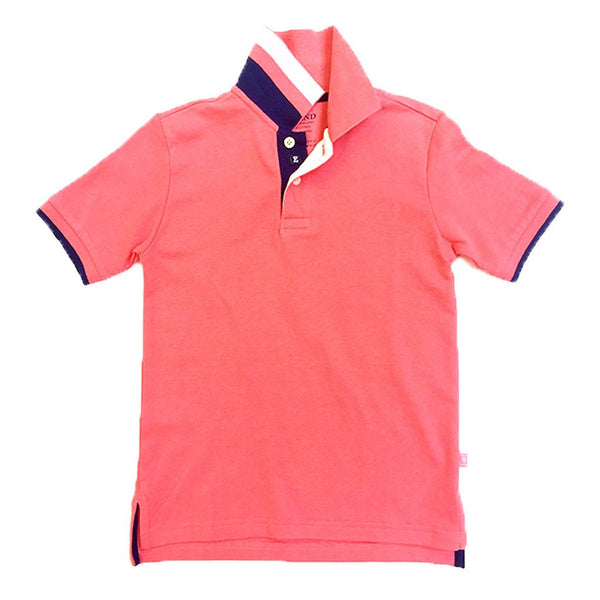 Sugar Coral Polo w/ Tape