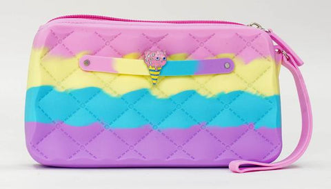 Frosted Cupcake Yummy Gummy Wristlet