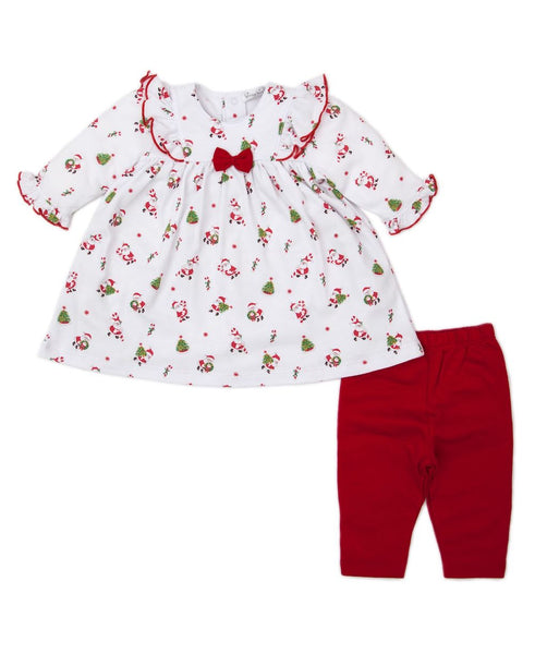 Here Comes Santa Claus Dress Set