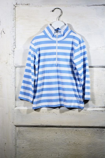 Cloud Stripe Fleece