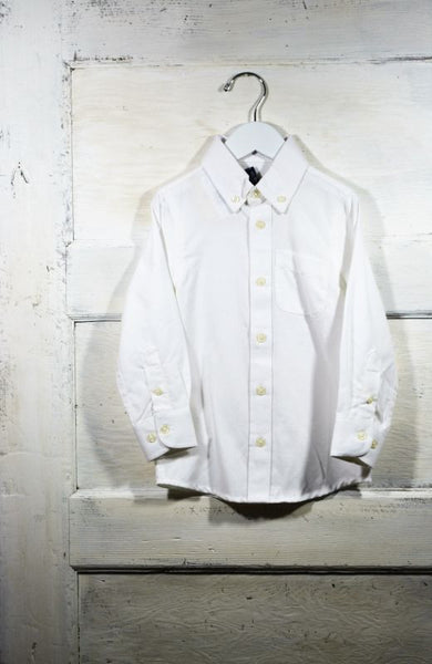 Oxford Solid White Shirt