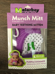 Munch Mitt Purple Shimmer