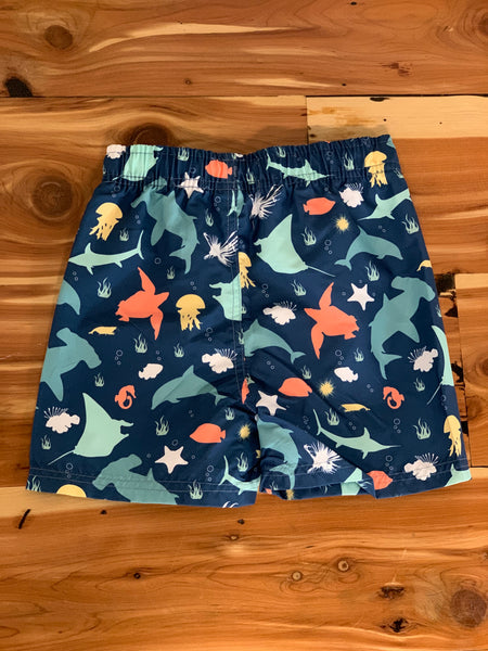 Under the Sea Swim Trunks