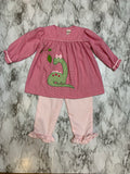 Dinosaur Girls Top and Pant