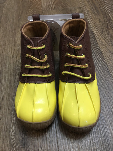Yellow Duck Boots