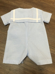 Sailor Romper Blue