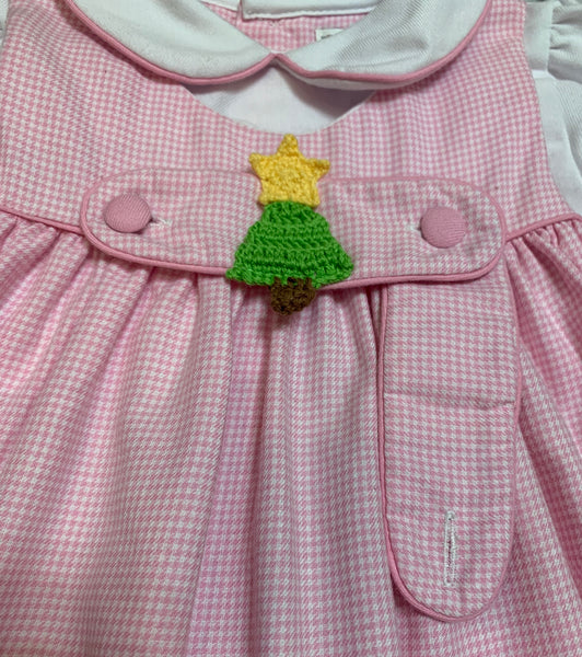 Christmas Tree Tab Dress