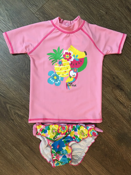 Floral Fruit Swim Set