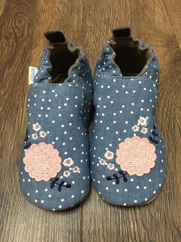 Chambray Bouquet Softsoles