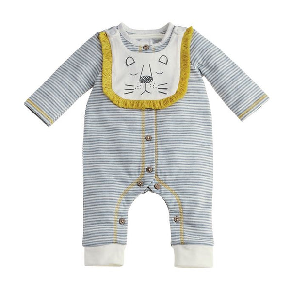 Lion Bib and Sleeper 3-6M