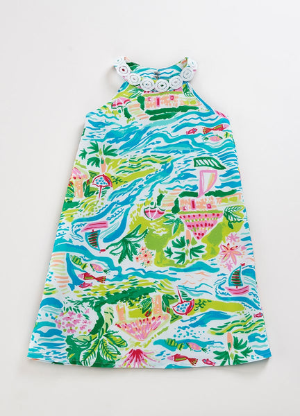 Beach Landscape Eden Shift Dress