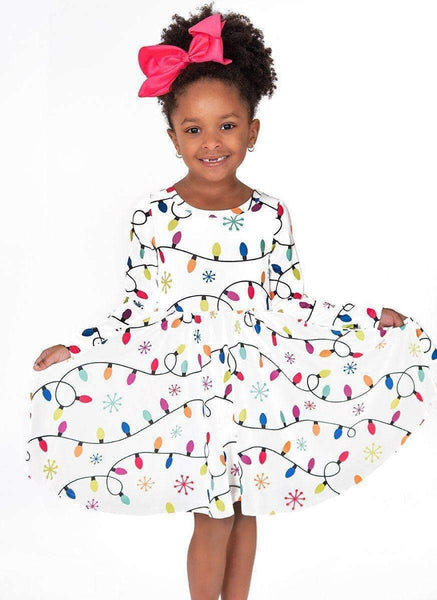 Christmas Lights Hugs Dress
