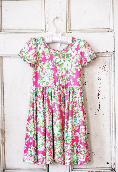 Lillian Flowers Dress