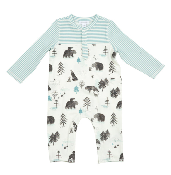 Mama and Cubs Romper With Pockets