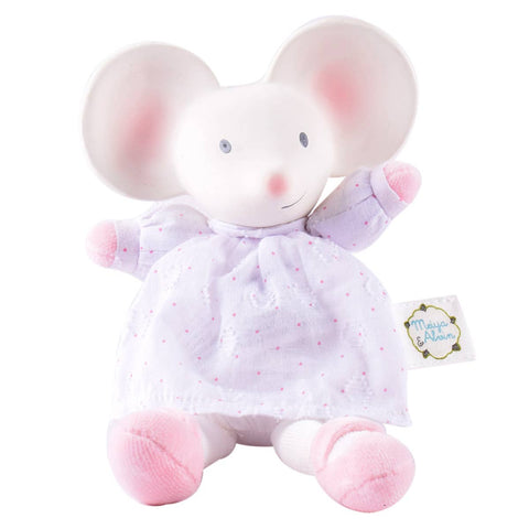 Meiya the Mouse Mini Plush Teething Toy