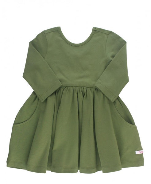 Moss Twirl Dress